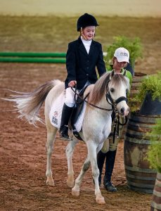 Team Ireland's Dearbhail Savage from Mowhan, Co Armagh riding 'Pepper' at LA2015. Picture credit: Ray McManus / SPORTSFILE