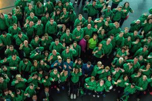 Team Ireland depart for LA2015 from Dublin Airport. Ray McManus / SPORTSFILE